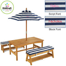 chair set with navy stripe cushions