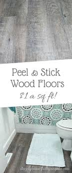 l and stick wood look vinyl flooring
