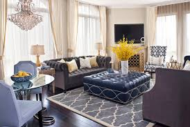 transitional design by jeneration interiors chesterfield sofa leather velvet and