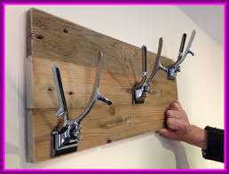 Pull Out Coat Rack Unique Marvelous Up Cycled Barbering Clippers Used To Make Coat Hangers