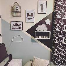 room into a gaming themed bedroom ...