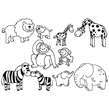 Stampominos Animali Della Savana