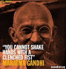 Gandhi Quotes On Peace Gorgeous Ten Inspiring Peace Quotes By Mahatma Gandhi The Symbol Of Peace