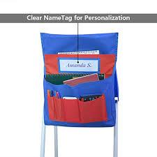 Chair Storage Pocket Chart School Supplies Chairback Buddy Pocket Chart Classroom Chair