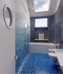 blue bathroom tile ideas: bathroom blue master small bathroom paint ideas with fresh blue mosaic tile and white ceramic bathtub