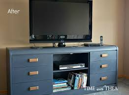 old furniture makeover. furniture makeover from old outdated dresser to new stunning tv stand chalk paint painted o