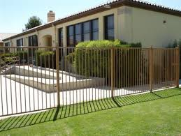 Iron House Fence Design Photos