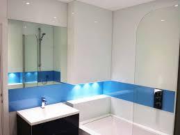 simply splashbacks uk blue and white tub surround