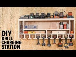 diy drill charging station you