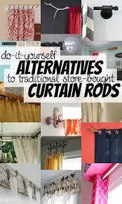 best 25 diy curtain rods ideas on homemade curtain rods curtain rods and homemade curtains