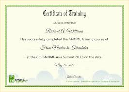 Certificate Of Completion Training Free Numbered Raffle Ticket