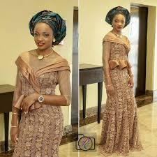 10 Stunning Latest Asoebi Styles For Wedding Amillionstyles Com