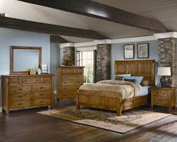 Made In Usa Bedroom Furniture Vaughan Bassett Timber Mill Timber Bedroom Set