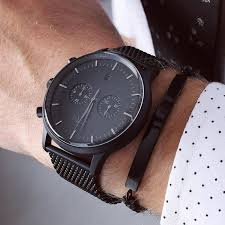 17 best ideas about black watches black michael a black sensation the kingston matte black watch from grand frank grandfrank