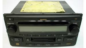 2003 2005 toyota echo factory am fm radio cassette cd player r 873 2003 2005 toyota echo factory am fm radio cassette cd player