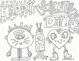 valentines day coloring pages. Contemporary Coloring Happy Valentineu0027s Day For Valentines Coloring Pages L
