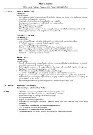 Retoucher Resume Samples Velvet Jobs