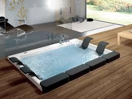 2 seater whirlpool built in bathtub thais by blu bleu