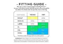 Standard Fit Size Chart My Pillow Size Chart Muhlis Co