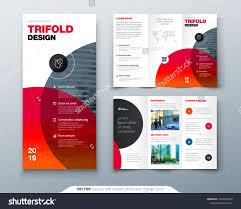 Tri Fold Brochure Design Business Template For Tri Fold