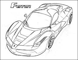 Ferrari Drawing At Getdrawingscom Free For Personal Use Ferrari