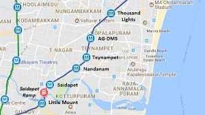 Two Chennai Metro Sections Inaugurated To Ag Dms And Central