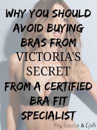 Fredericks Of Hollywood Bra Size Chart 4 Reasons Why You Should Never Buy Victorias Secret Bras