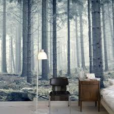Benutzerdefinierte Fototapete Moderne Wald Wald Fotografie Hintergrund Wohnzimmer Sofa Schlafzimmer Tv Wandmalerei Kunst Wandbild Tapete