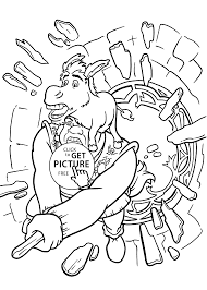 Small Picture and Donkey coloring pages for kids printable free