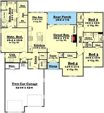 Small Affordable House Plans And Simple House Floor PlansSmall 4 Bedroom House Plans