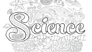 Good Free Science Coloring Pages Or Science Printable Coloring Pages