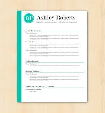 Resume Template Cv Template The Ashley Roberts Resume Design Instant