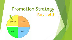 Promotional Strategies Marketing Mix Promotion Strategy Part 1