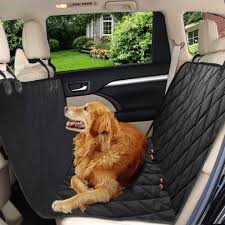 pet car seat cover zellar universal waterproof 2 in 1 dog car rear seat cover on on