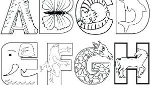Alphabet Coloring Sheets Alphabet Coloring Worksheets For