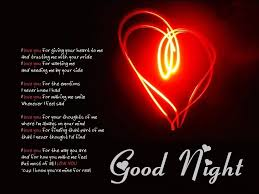 free hd good night love images poems wallpapers