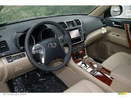 Sand Beige Interior 2013 Toyota Highlander Limited 4WD Photo ...