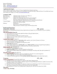 Excel Resume excel resume examples Enderrealtyparkco 1