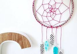 What Is A Dream Catcher Supposed To Do 100 Artistic and Quirky DIY Dream Catcher Ideas to Give Your Home a 74