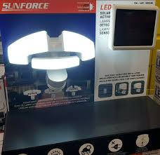 Solar Sensor Light Big W Details About Sunforce Triple Led Solar Motion Activated Solar Sensor Bright Light 1500 Lumens