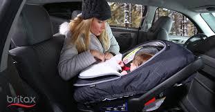 britax b warm keeps car seats warm for babies in winter