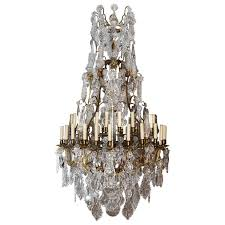 antique chandelier crystal