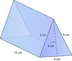 Surface Area of Triangular Prisms | CK-12 Foundation