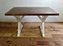 reclaimed wood table 30 x 48 inch dining table from 48 round dining table
