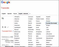 Google Translate Just Added Kurdish Why Is That Significant