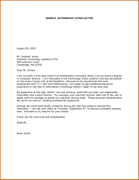 Sample Cover Letter For Internship In Computer Science 69 Infantry