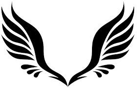 hawk wing clipart. Modren Clipart Hawk Wings Png Simple Tribal Angel Clipart Banner Download Intended Wing Clipart