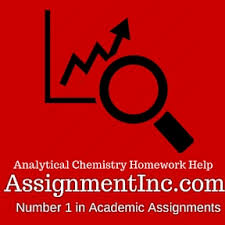 analytical chemistry assignment help and homework help analytical chemistry assignment homework help