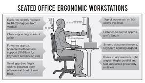 ergonomic desk setup nonsensical the three ergonomic mistakes we all make interior ideas
