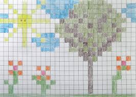 Craftsboom Com Pixel Art Style Painting Graph Paper Art